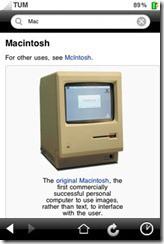 Wikipedia realiza su aplicación oficial para el iPhone